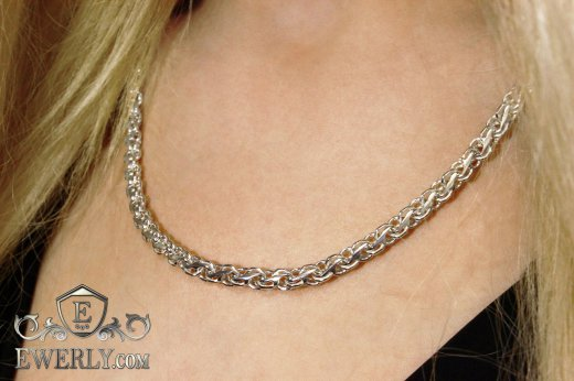 "Women's chain ""Stream"" of sterling silver to buy 111019CM"