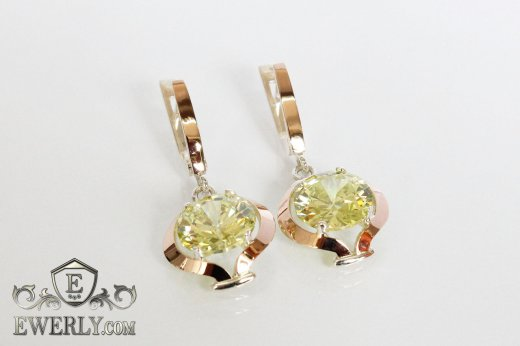 Earring of  silvers to buy 0031TV