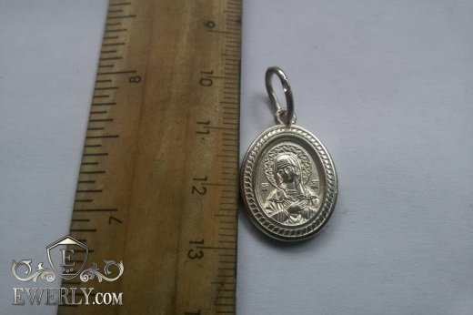 Pendant - icon of sterling silver to buy 0102068PI