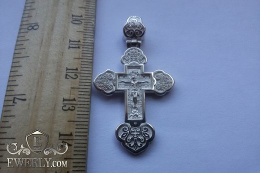 Cross of  silver for women to buy 08711BF