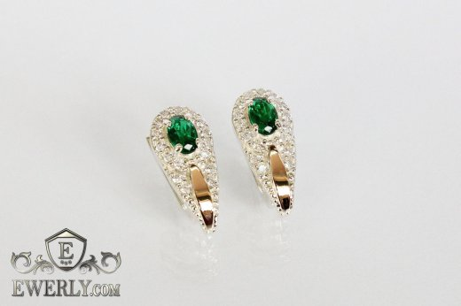 Earring of  silvers to buy 0017GO