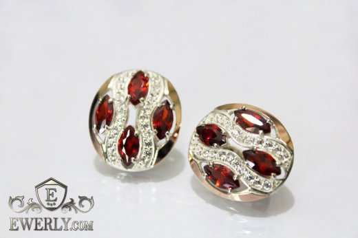 Earring of sterling silvers to buy 0028SJ