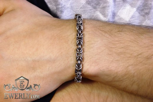 "Bracelet ""Malvina"" of  silver to buy 121012KJ"