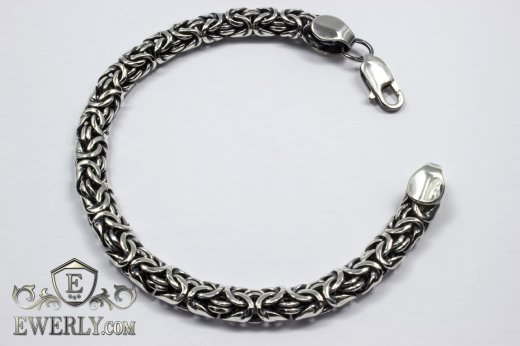 "Bracelet ""Fox tail (Valkyrie)"" of sterling silver to buy 121008AR"