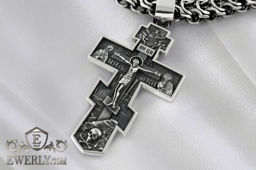 Big men's cross of  silver to buy 131004ZB