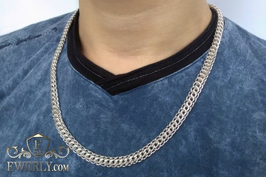 "Chain ""Cardinal (Python, Italian)"" of  silver to buy 111034JS"