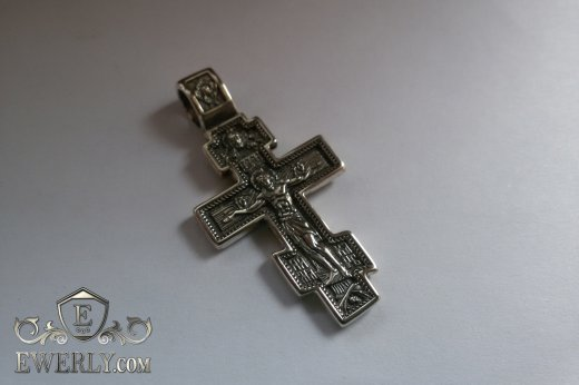 Cross of sterling silver to buy 08700GQ