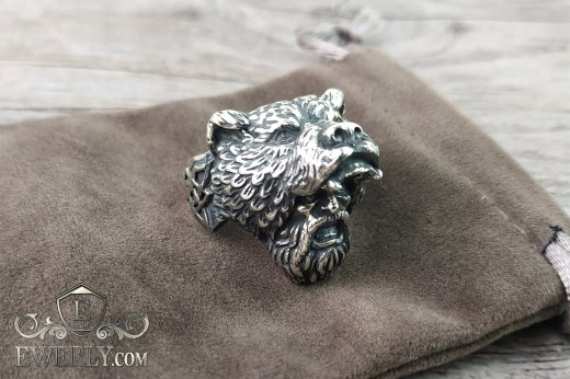 Men's ring of  silver to buy 141003QS