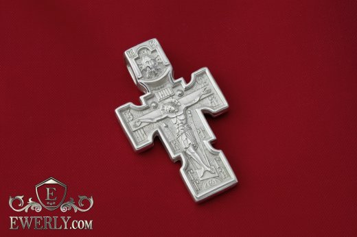 Men's cross of  silver to buy 0101084LC