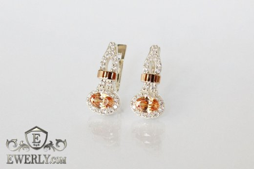 Earring of  silvers to buy 0021HS
