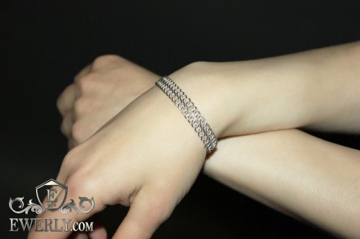 "Women's bracelet ""Eight"" of  silver to buy 121022GWJ"